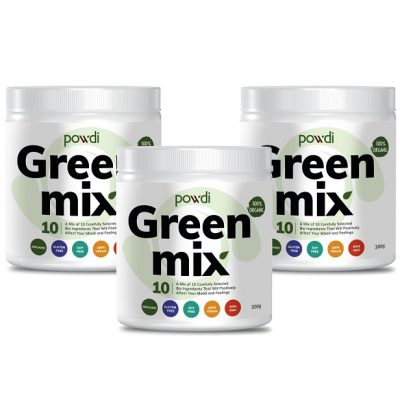Powdi green mix